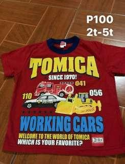 Tomiya kids shirt 2t- 5t