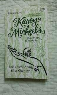 The Questioning Miss Quinton by Kasey Michaels