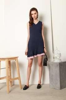 BNIB Asymmetric Hem Dress with Pockets Prom Dress