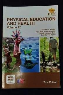 Physical Education and Health II (1st Edition) Textbook