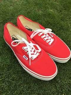 Vans Original Red