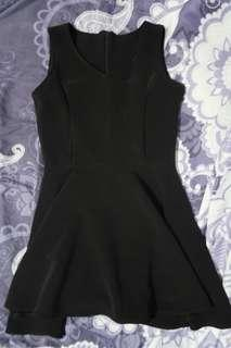 Plain Black Dress