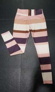 Multicored Sportswear Leggings (M)