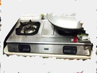 煤氣煮食爐gas stove gas hob cooker