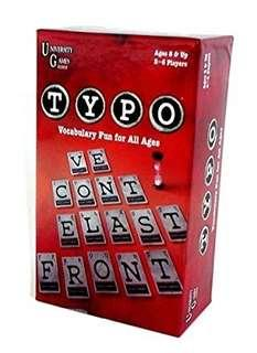 Typo Word Game