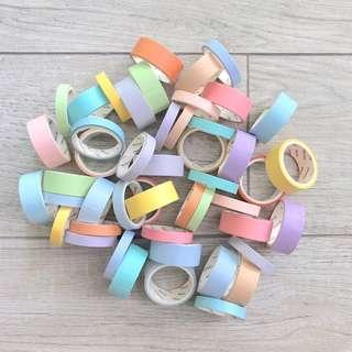 Pastel Washi Tape Grab Bag