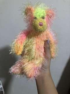 Rainbow Bear Ty collection Soft toy Fluffy Cute Plushie
