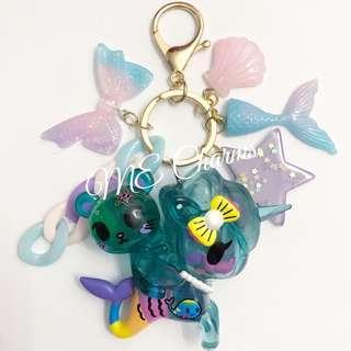 Tokidoki Unicorno & Friends Palette & Aquamarina Bag Charms / Fobs