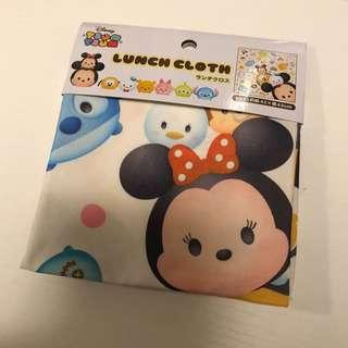 Disney Tsum Tsum lunch box 手巾 Mickey Stitch 小甘