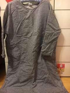 🚚 森林系厚舖棉長洋裝版大保暖