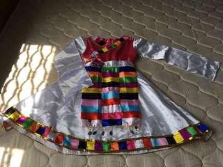 Girls dancing costume