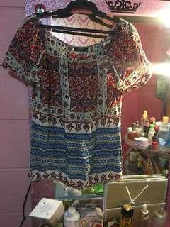 offshoulder blouse