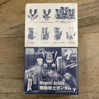 [🇯🇵版]機動戰士高達GUNDAM Magnet Action原盒