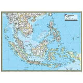 🚚 Map of Southeast Asia