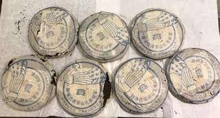 2005年 巴達孔雀普洱茶 生茶 357g 散片