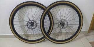 Mtb bicycle touring wheelset 29er @ 700c