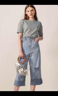 Fashmob Barry denim culottes