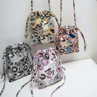 Fashion Treasure Bag Bucket Sling Bag