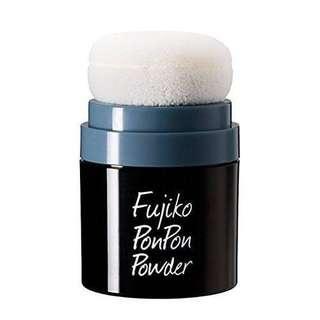 🚚 日本Fujiko Ponpon蓬鬆粉 吸油粉撲 容量:8.5g