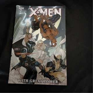 Marvel Comics X-Men - With Great Power 2011 TPB by Victor Gischler, Chris Claremont & Chris Bachalo!