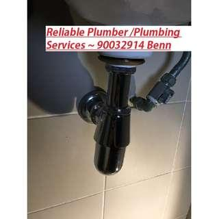 Plumbing/plumber/Replace tap/flushing system / clearing choke / bidet spray services ! Reliable Home Services !