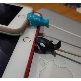 Cable Protectors: WHALE SHARK & ORCA (48php per animal)