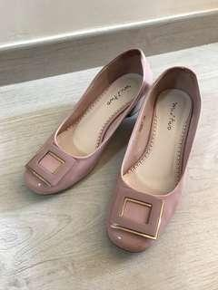 Pink Pink 斯文平踭鞋