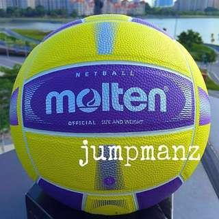 Molten SN58MX Netball (New Color: Purple & Yellow) FREE DELIVERY