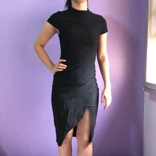 9bf4fbb5f48 Duchess   Co Black Top Pencil Dress  nogstday