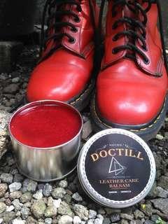 Semir polish balsam sepatu tas jacket bahan kulit