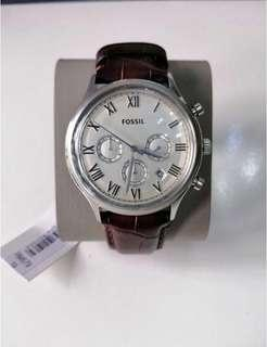 Authentic Brand New Fossil Unisex Watch (with Warranty Card)
