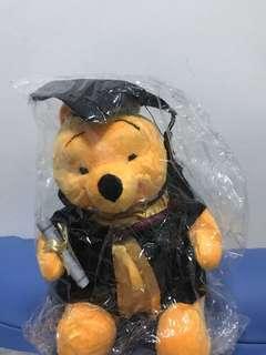 Graduation Bear Winnie the pooh