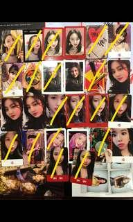 (WTS/WTT) TWICE YES OR YES PHOTOCARDS