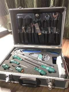 Sata Aluminium Tool Box Set