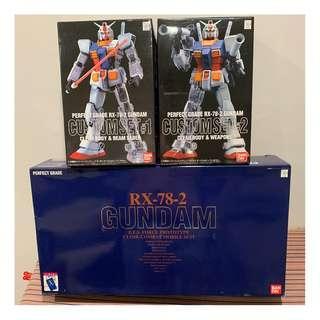 982fdc0754b PG 1 60 RX-78-2 Gundam with Custom Set  1 and