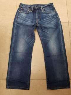 Levi's levis 牛仔褲 504 jeans
