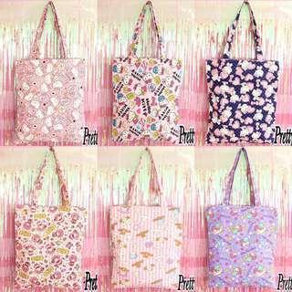 Sanrio Characters Tote Bag