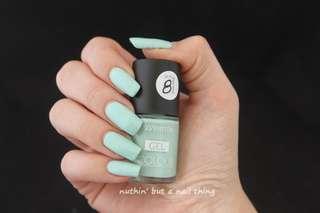 Seventeen Mint Colour Nail Color