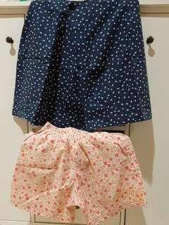 STAR SKIRT AND FLOWER HOT PANTS TAKE ALL