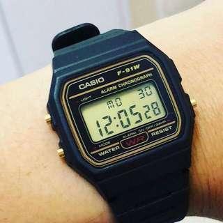 🚚 Casio F91w Digital Watch