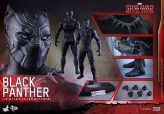 Hot Toys Civil War Black Panther BIB