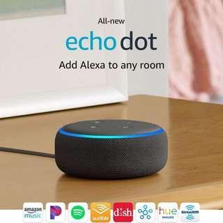 (In-Stock) All-new Echo Dot (3rd Gen) - Smart speaker with Alexa