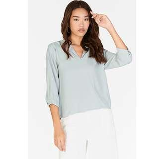 BNWT TCL Lei Sleeved Top in Spring Mint (The Closet Lover)
