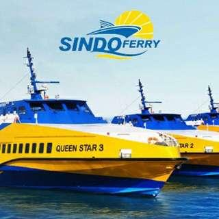 2 Way Sindo Ferry Ticket To Batam (Tax included!)