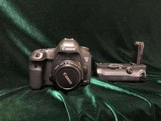 Canon 5D mark III 連 直倒 + 50 1.8 齊件 有盒 超新淨