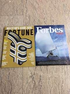 🚚 Magazine fortune forbes investor guide business stocks