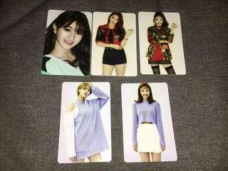 TWICE CARD STICKER