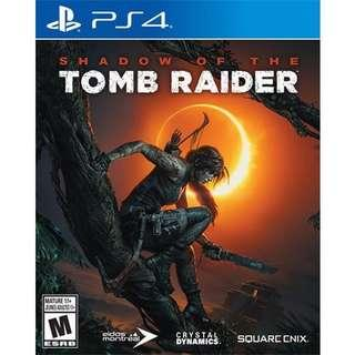 Shadow of tomb raider ps4
