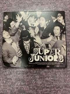 Super Junior Album (limited edition Kr Version)