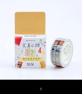 Washi tape selotip 15mm 7m